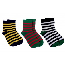 Kid's Bamboo Striped 3 Pack