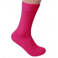 Pink Dress Socks