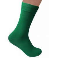 Men Bamboo Solid Green
